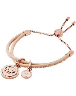 Micro Muse Studded Slider Bracelet