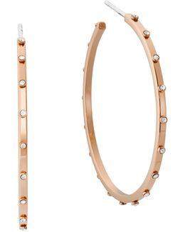 Micro Muse Studded Hoop Earrings