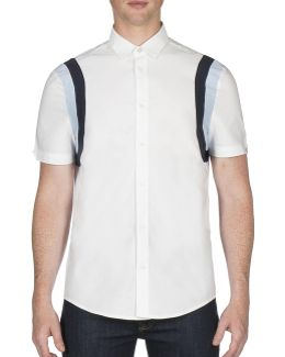 Future Mod Sports Panel Oxford Shirt