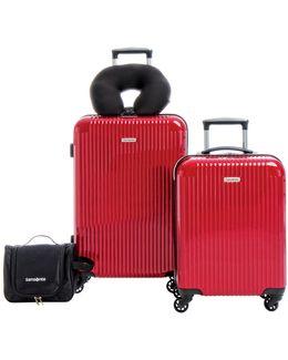 Streamlite Hs Four-piece Luggage Set
