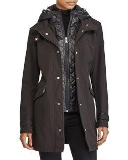 Fleece-lined Hooded Jacket