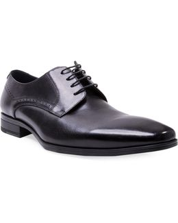 Fendur Brogued Leather Derby Shoes