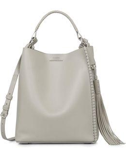 Leather Mini Hobo Bag