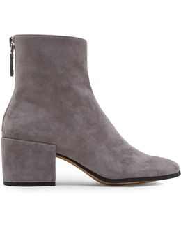 Maude Suede Ankle Boots