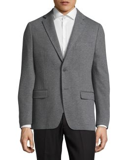 X-fit Slim Houndstooth Wool Sport Jacket