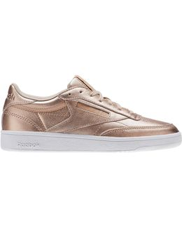 Kick Low Top Leather Sneakers