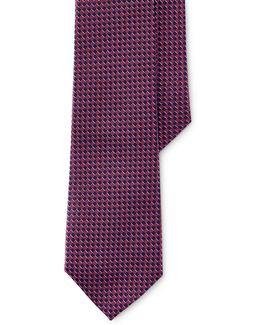 Brick Jacquard Silk Tie