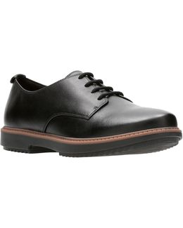 Raisie Bloom Leather Oxfords