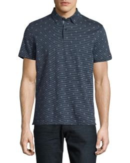 Sammy Print Polo Shirt