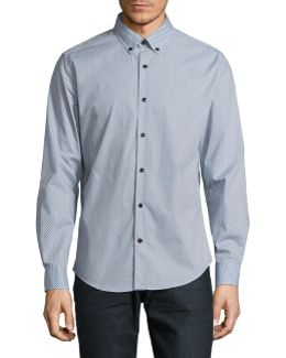 Arrow Print Sport Shirt
