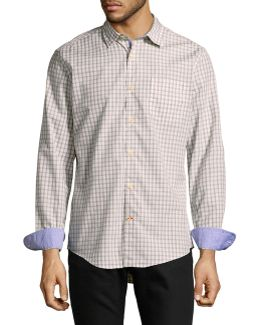 Quinn Plaid Sport Shirt