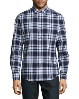 Harris Plaid Sport Shirt