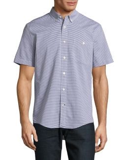 Custom-fit Mercer Stripe Shirt