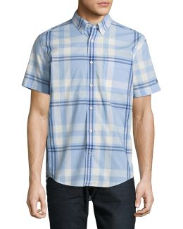 Roth Plaid Short Sleeve Shirt