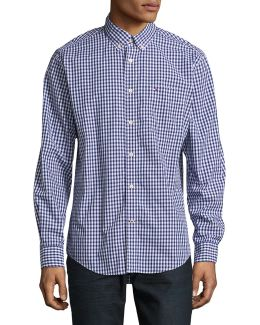 Classic Fit Check Sport Shirt