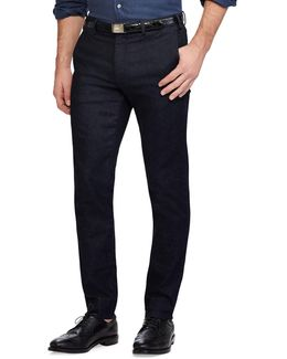 Stretch Tailored Slim-fit Chinos