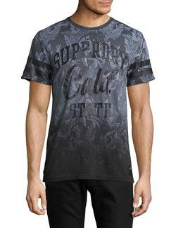 California Palm Print T-shirt