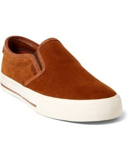 Vaughn Suede Slip-on Sneakers