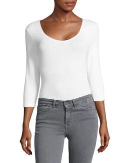 Stretch Cotton Bodysuit