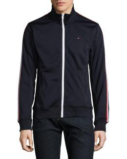 Striped Track Jacket