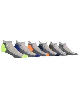 Six-pack Random Feed Heel-toe Low Cut Sport Socks Set