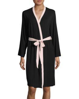 Mid-length Knit Robe