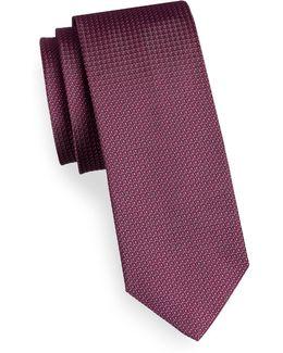 Mirco Dot Silk Tie