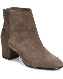 Esme Studded Suede Short Boots