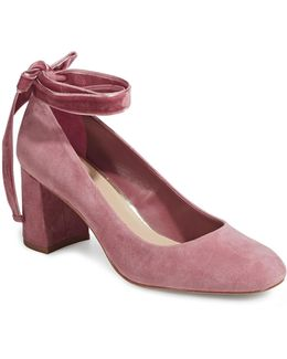 Geila Suede Mary-janes Shoes
