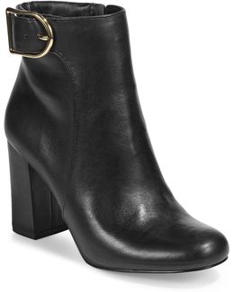 Gwyneth Leather Ankle Boots