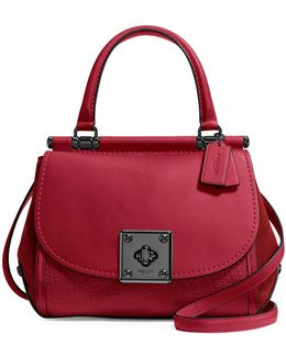 Drifter Leather Top Handle Bag