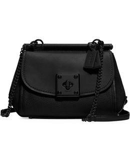 Drifter Mixed Leather Crossbody Bag