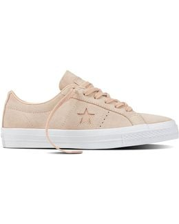 Womens One Star Suede Sneakers