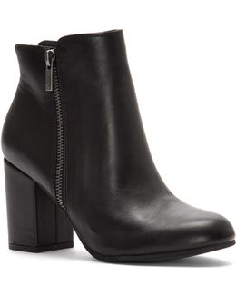 Shaynah Leather Ankle Boots