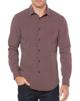 Paisley Casual Button-down Shirt