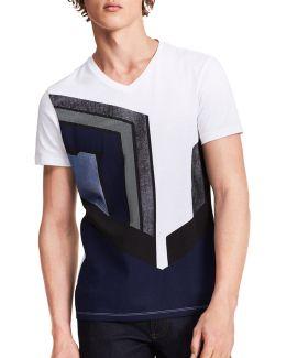 Racer Cotton T-shirt