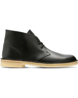 Casual Leather Chukka Boots