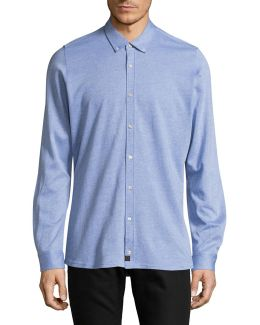 Spence-j Slim-fit Knit Shirt