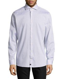 Printed Slim-fit Shirt