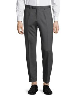 Kael Wool-blend Ankle Pants