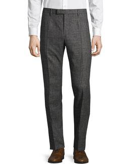 Quinte Tonal Wool-blend Pants