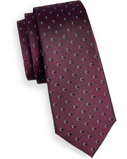 Shadow Dot Silk Tie