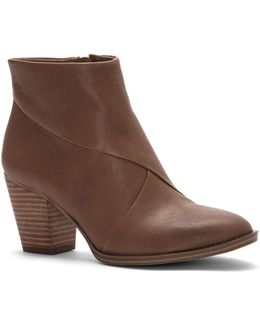 Bezza Leather Ankle Boots