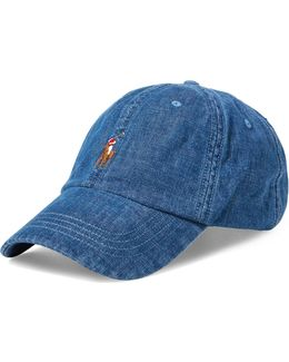 Denim Sports Cap