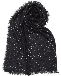 Foil Print Stars Blanket