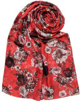 Folklore Floral Blanket
