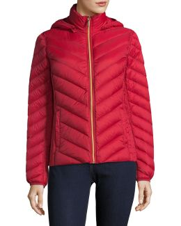 Essential Short Packable Down Jacket