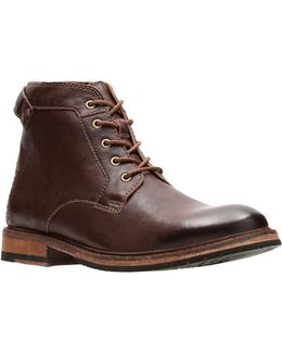 Clarkdale Bud Leather Boots