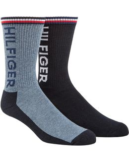 Two-pack Sport Crew Socks