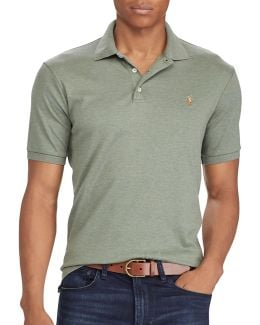 Big And Tall Classic-fit Soft-touch Polo